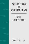 Global Distributive Justice: The Potential for a Feminist Analysis of International Tax Revenue Allocation