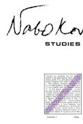 <i>The Phenomenon of Nabokov</i> (review)