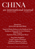 Health Reform and <i>De Facto</i> Federalism in China