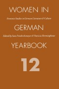 Women in German Yearbook: Feminist Studies in German Literature & Culture cover