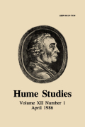 Hume and the Standard of Taste