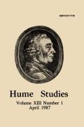 Hume's Apology