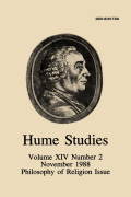 Can Hume's Use of a Simple/Complex Distinction Be Made Consistent?