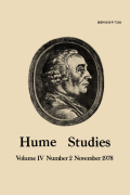 On Hume's Is-Ought Thesis