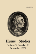 <i>HUME: A Re-evaluation</i> (review)