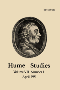 Hume's Classical Theory of Justice