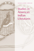 A Necessary Inclusion: Native Literature in Native Studies