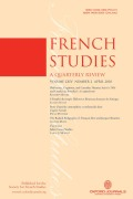 <i>Identities, Discourses and Experiences: Young People of North African Origin in France</i> (review)