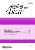 <i>Hearing Impaired Developmentally Disabled Persons: A Challenge to the Helping Professions</i> (review)