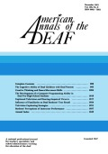 Students' Perceptions of Instructor Performance in Specialized Professional Training Programs in Deafness: Recommendations for Teaching Strategies
