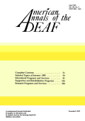 Career Education: The Position Paper of The Conference of Educational Administrators Serving the Deaf