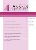 Teachers of the Deaf as Compared with Other Groups of Teachers: Attitudes Toward People with Disabilities and Inclusion