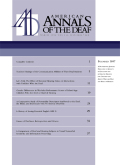 A Comparative Study of Personality Descriptors Attributed to the Deaf, the Blind, and Individuals with No Sensory Disability
