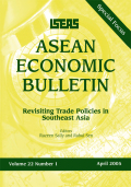 The Political Economy of Trade Policy in Indonesia