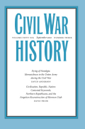 <i>Nations, Markets, and War: Modern History and the American Civil War</i> (review)