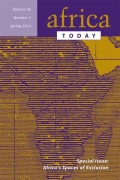 <i>The Great African War: Congo and Regional Geopolitics, 1996–2006</i> (review)