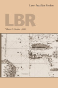<i>Gender, Discourse and Desire in Twentieth-Century Brazilian Women's Literature</i> (review)
