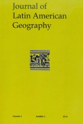 <i>Ethno- and Historical Geographic Studies in Latin America: Essays Honoring William V. Davidson</i> (review)