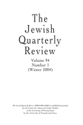 <i>Transmitting Jewish Traditions: Orality, Textuality, and Cultural Diffusion</i> (review)