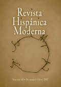 <i>Properties of Modernity: Romantic Spain, Modern Europe, and the Legacies of Empire</i> (review)