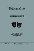 <i>A Catalogue of «Comedias Sueltas» in the New York Public Library</i> (review)