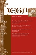 <i>Against All England: Regional Identity and Cheshire Writing, 1195–1656</i> (review)