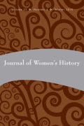 (Post) Colonialism, Citizenship and Domesticity: Intersectionality in Feminist Histories