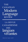 <i>Electronic Discourse and Language Learning and Language Teaching</i> (review)