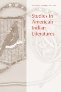 <i>Tribal Theory in Native American Literature: Dakota and Haudenosaunee Writing and Indigenous Worldviews</i> (review)