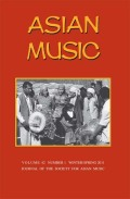 <i>Music in Egypt: Experiencing Music, Expressing Culture</i> (review)
