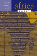 <i>Pan-Africanism or Pragmatism? Lessons of Tanganyika-Zanzibar Union</i> (review)