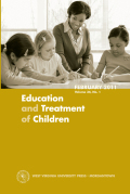 A Best Evidence Synthesis of Literacy Instruction on the Social Adjustment of Students With or At-risk for Behavior Disorders
