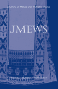 <i>Militarization and Violence against Women in Conflict Zones in the Middle East: A Palestinian Case Study</i> (review)