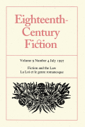 The Reader and the Jury: Legal Fictions and the Making of Commercial Law in Eighteenth-Century England