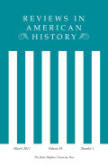 From Deference to Democracy: The Transformation of American Society, 1789-1815
