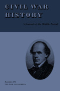 <i>The Diary of Edmund Ruffin</i>. Vol. I, <i>Toward Independence, October, 1856-April, 1861</i> (review)