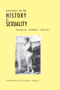 <i>Love for Sale: Courting, Treating, and Prostitution in New York City, 1900–1945</i> (review)