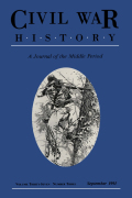 <i>Mastering Wartime: A Social History of Philadelphia during the Civil War</i> (review)