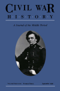 "<i>Campaigning with ""Old Stonewall"": Confederate Captain Ujanirtus Allen's Letters to His Wife</i> (review)"