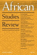 <i>Ousmane Sembène: The Making of a Militant Artist</i> (review)