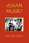 Music and Masculinities in Late Ming China