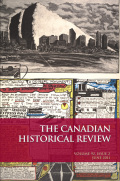 The Canadian Historical Review cover