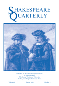 <i>Early Modern Ecostudies: From the Florentine Codex to Shakespeare</i> (review)
