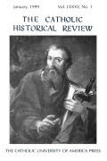 The Catholic Historical Review cover
