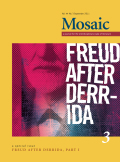 Being Just with Freud … after Derrida