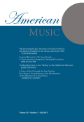 Hip Hop Samples Jazz: Dynamics of Cultural Memory and Musical Tradition in the African American 1990s