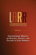 Environmental Citizenship in Latin America: Climate, Intermediate Organizations, and Political Subjects