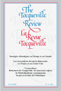 Half Yankee Travelers: Tocqueville and Beaumont In America