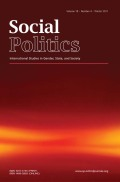 The Politics and Power in Caregiving for Identity: Insights for Indian Residential School Truth and Reconciliation