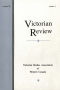<i>The Degeneracy Crisis and Victorian Youth</i> by Thomas E. Jordan (review)